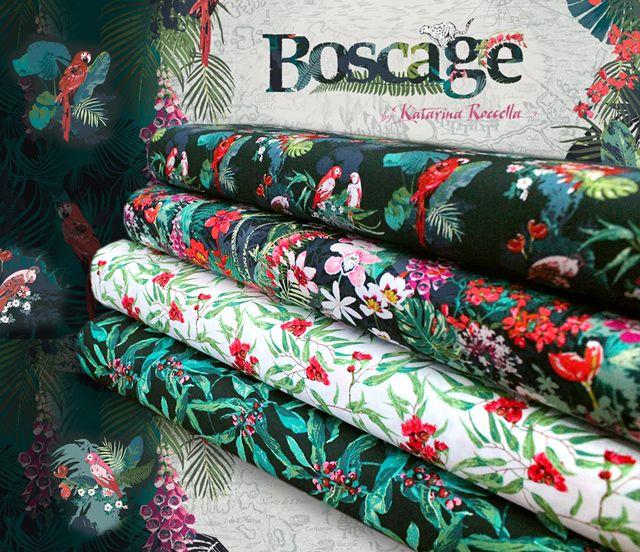 熱帯林のエネルギーを感じる生地 Art Gallery Fabrics Boscage