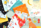 Art Gallery Fabrics Oh, Woof! Collection by Jessica Swift