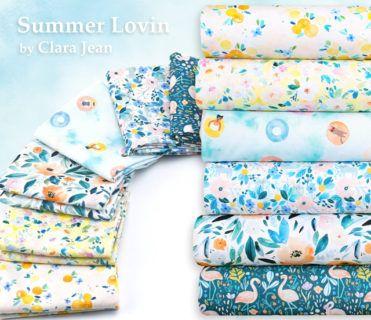 Dear Stella Summer Lovin Collection by Clara Jean