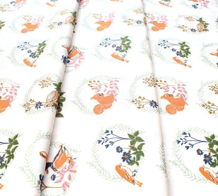 Art Gallery Fabrics Lilliput Forest Friends