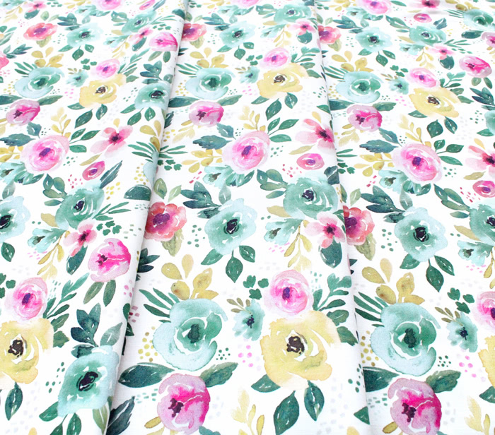 Felicity Fabrics Nightfall Floral in Afternoon 610111