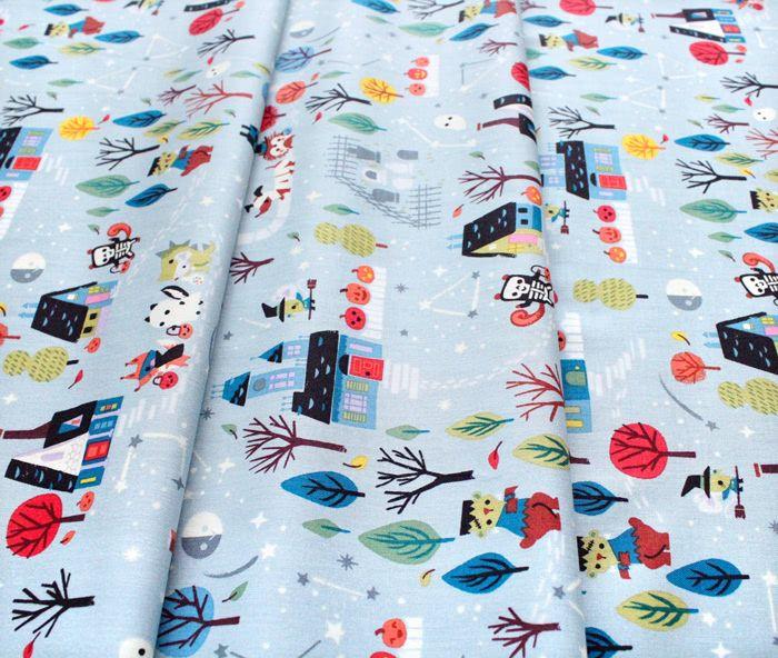 Riley Blake Designs Tiny Treaters C10480-GRAY Main Gray