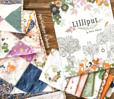 Art Gallery Fabrics Lilliput Collection by Sharon Holland