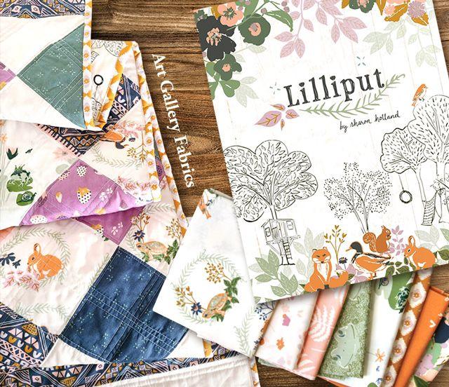 Art Gallery Fabrics Lilliput Collection 入荷