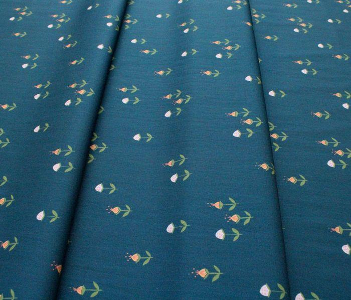 Monaluna Vintage 74 V74-04 Clover on Teal