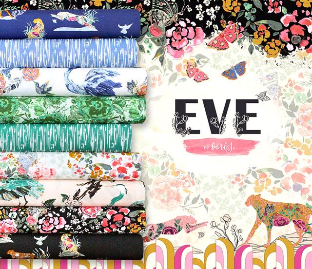 Art Gallery Fabrics Eve Collection 入荷