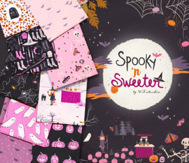 Art Gallery Fabrics Spooky'n Sweeter Collection by AGF Studio
