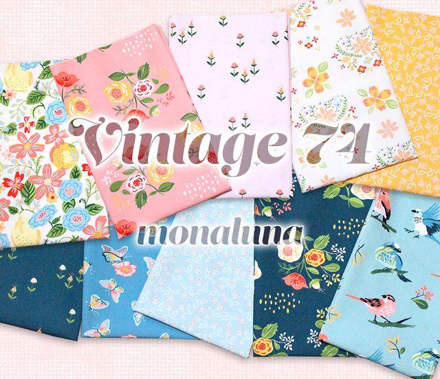 Monaluna Vintage 74 Collection 入荷