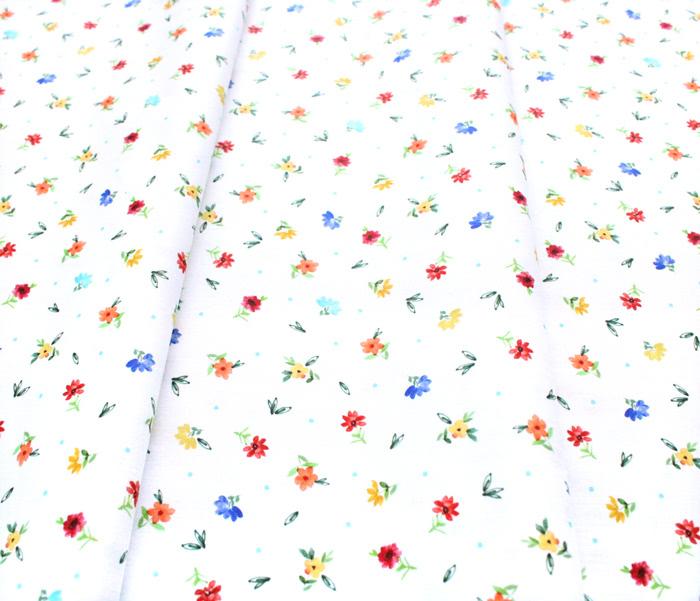 Michael Miller Fabrics Everyone is Invited CX9804-CREM Dotty Flowers Cream