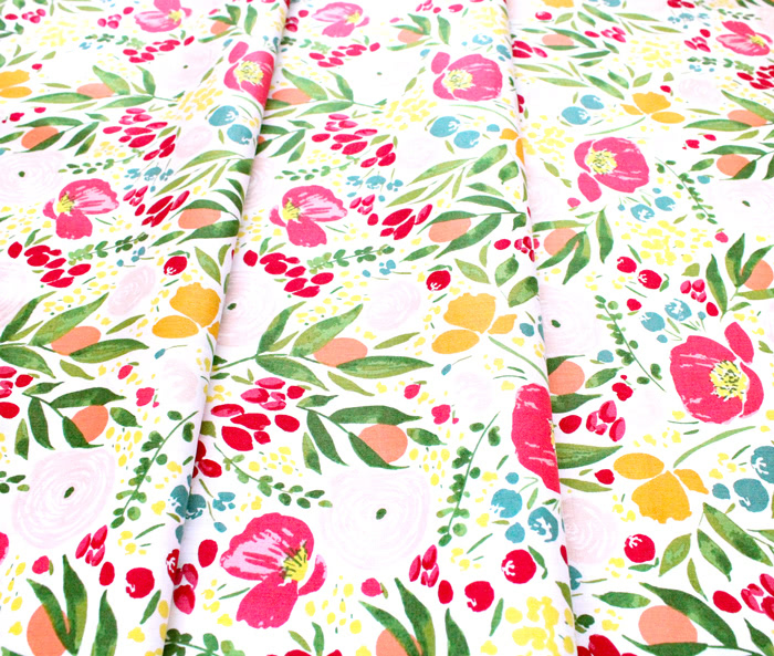 Windham Fabrics Cora 52359-1 Cora Floral White