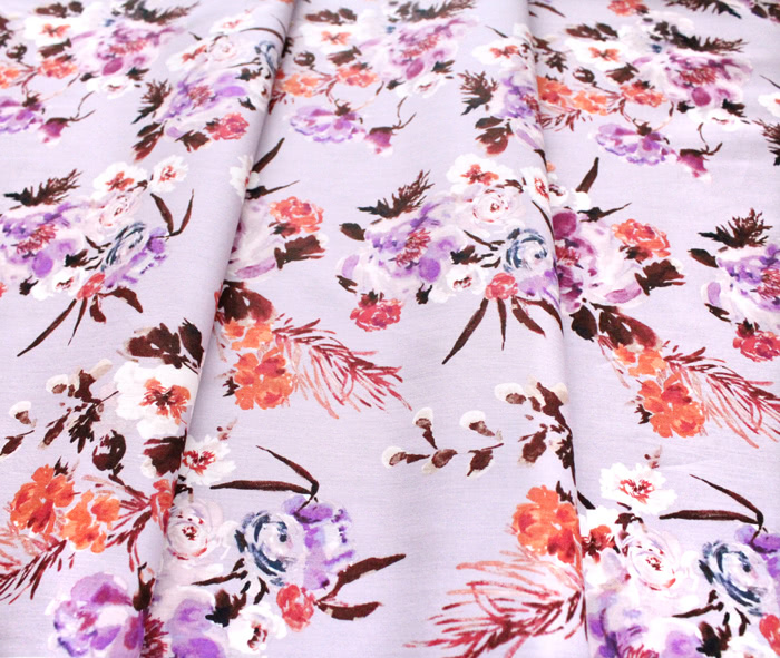 Windham Fabrics Wildflower 52252-3 Coral Charm Mauve