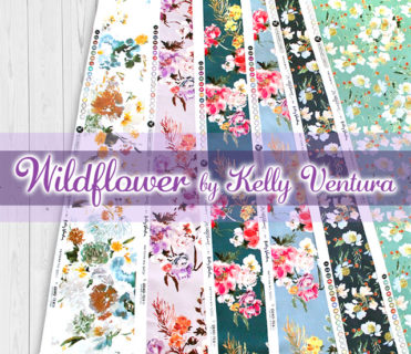 Windham Fabrics Wildflower Collection by Kelly Ventura