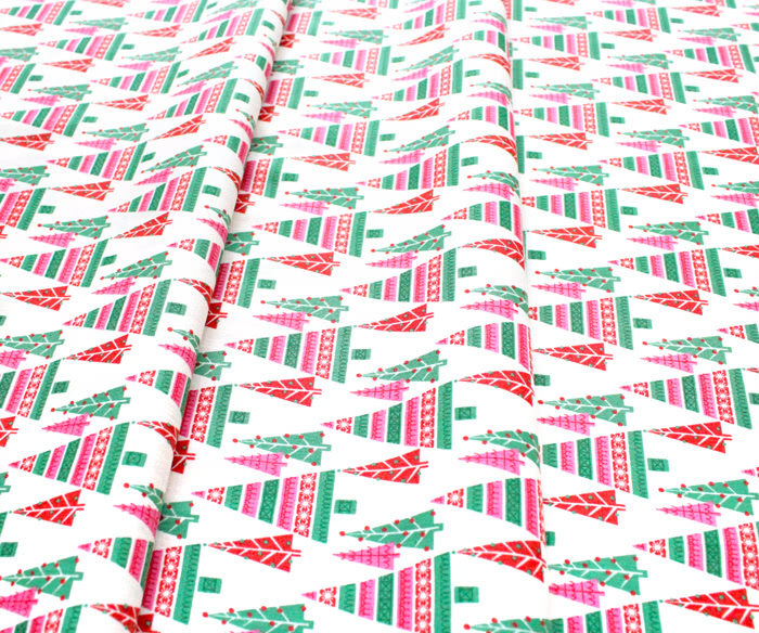 Cloud9 Fabrics Christmas Past 227091 Pretty Pines