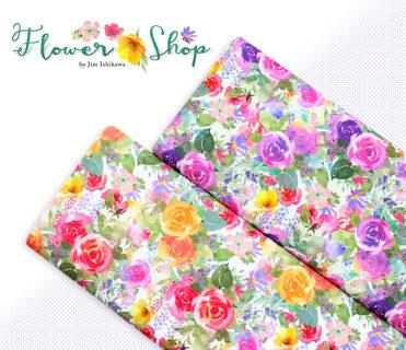 Clothworks Flower Shop Bouquets by Jim Ishikawa