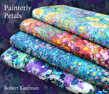 Robert Kaufman - Painterly Petals