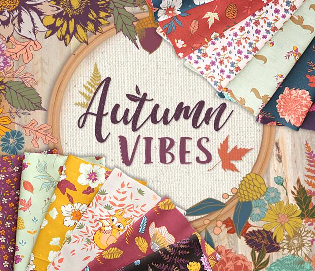 Art Gallery Fabrics Autumn Vibes Collection 入荷