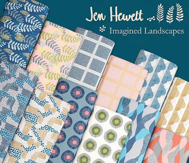 COTTON+STEEL Imagined Landscapes Collection 入荷