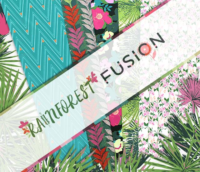 Art Gallery Fabrics Rainforest Fusion Collection 入荷