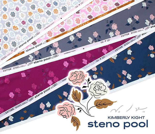 COTTON+STEEL Steno Pool Collection 入荷