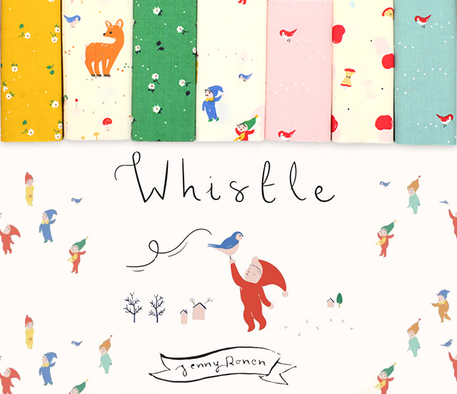 Birch Fabrics Whistle Collection 入荷